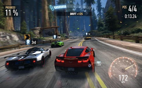 Need for Speed: No Limits APK MOD 5.5.1 (Supercar, Free Upgrade) 7