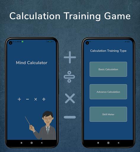 Mental Calculation speed : Calculation Training  screenshots 2