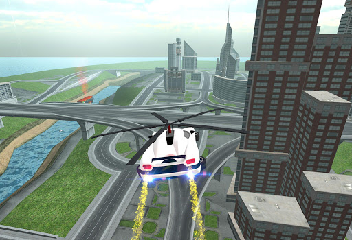 Flying Car Rescue Flight Sim 3.1 screenshots 7