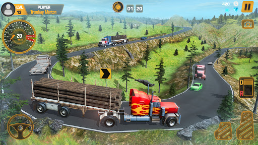 Heavy Truck Simulator USA: Euro Truck Driving 2021 android2mod screenshots 5