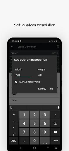 Video Converter, Compressor MP4, 3GP, MKV,MOV, AVI 0.4.5 APK screenshots 4