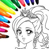 icono Coloring Book 4 You: libro para colorear divertido