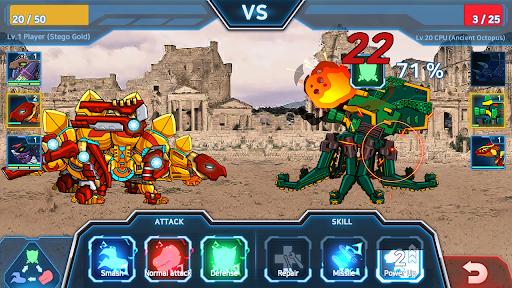 Dino Robot Battle Field - Armoured Dinosaurs War  screenshots 2