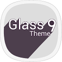 Crystal Glass HD - Icons pack Theme WALLPAPER full