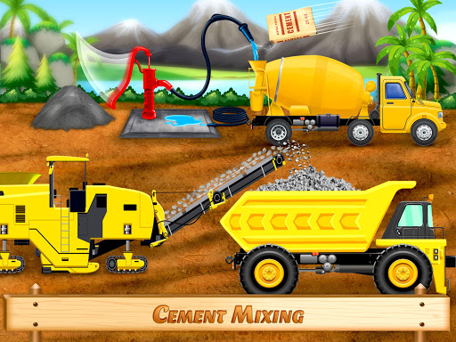 City Construction Vehicles - House Building Games screenshots 9