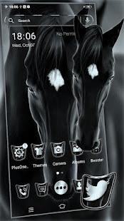 Black Horse Theme