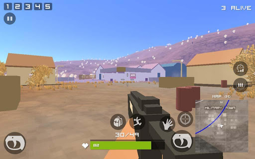 Grand Pixel Royale Battlegrounds Mobile Battle 3D  screenshots 3