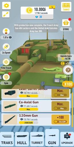 Idle Tanks 3D apktreat screenshots 2