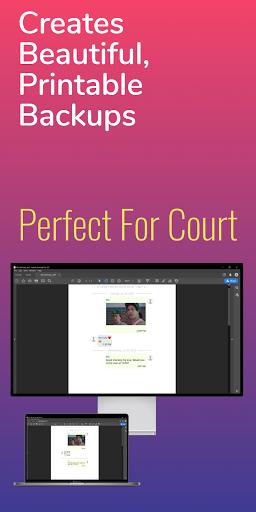 ud83dudd25SMS Backup, Print & Restore -Export PDF,HTML,CSV apktram screenshots 14