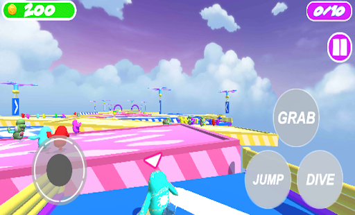FaII Guys Knockout : Obstacles without fall! Apkfinish screenshots 2