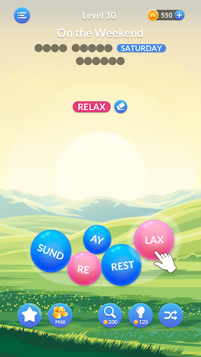 Word Serenity - Free Word Games and Word Puzzles  screenshots 1