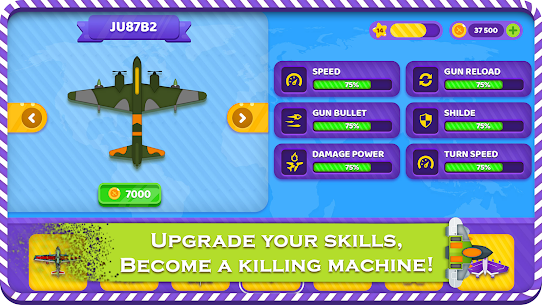 Plane Wars: Sky Force Escape – Air Combat Games Game Hack & Cheats 4
