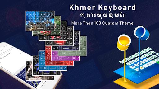 Khmer keyboard for android with Custom keyboard 1.0.6 screenshots 3