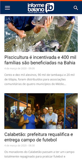 informe baiano screenshot 2