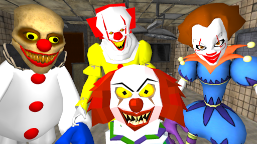 Clown Hospital. Neighbor Escape 3D  screenshots 1