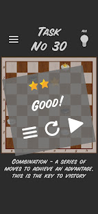 Checkers Puzzles - Free Draughts Task
