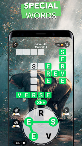 Word Connect - Words of Nature: Word Games apkpoly screenshots 5