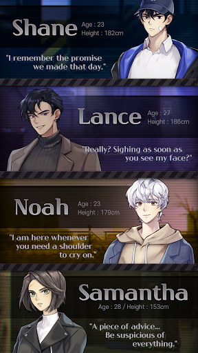 Havenless - Your Choice Otome Thriller Game Apkfinish screenshots 9