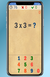 EasyMath. Mathematics, verbal counting For Android 4