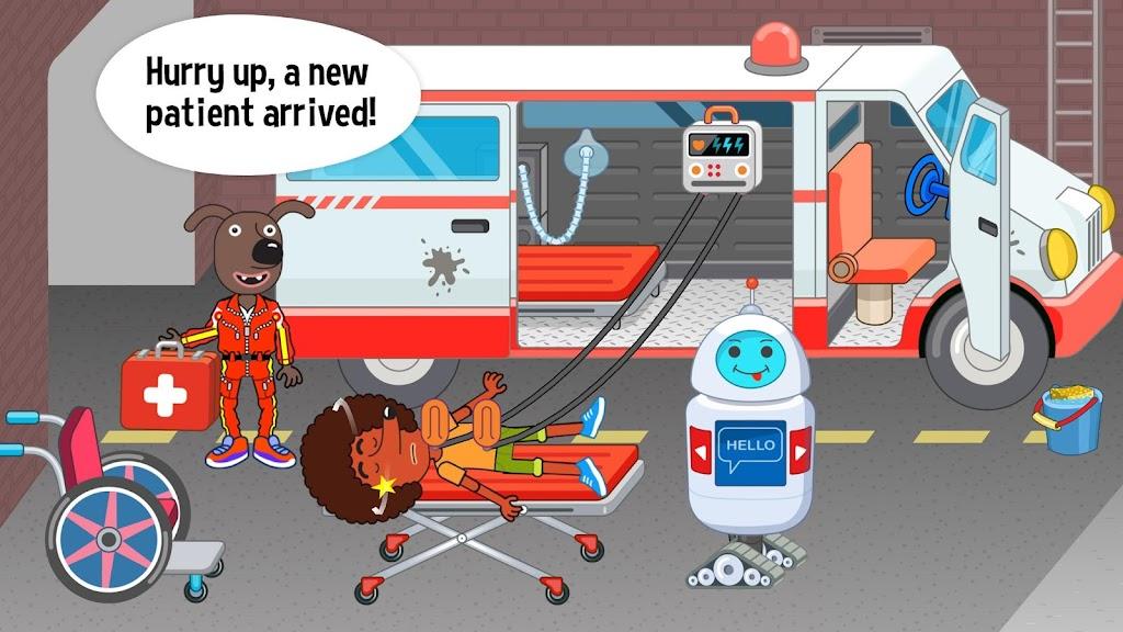 Pepi Hospital: Learn & Care  poster 0
