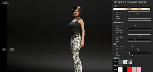 Custom female 1.1 screenshots 3