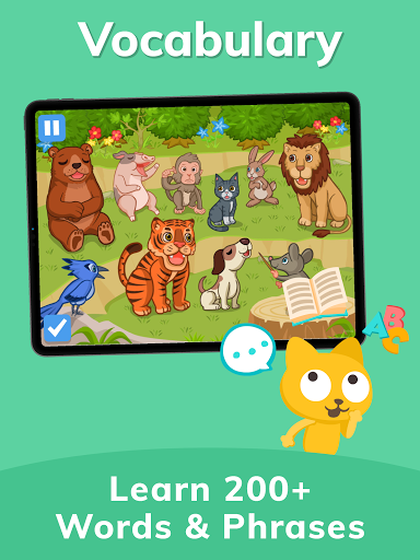 Studycat: Fun Spanish for Kids apktram screenshots 20