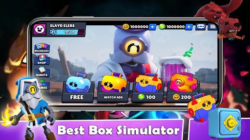 Simulator For Brawl Stars Box BS screenshots 1