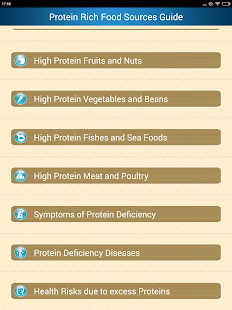 Protein Rich Food Source Guide