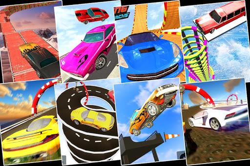 Impossible GT Car Driving Tracks: Big Car Jumps apkpoly screenshots 5
