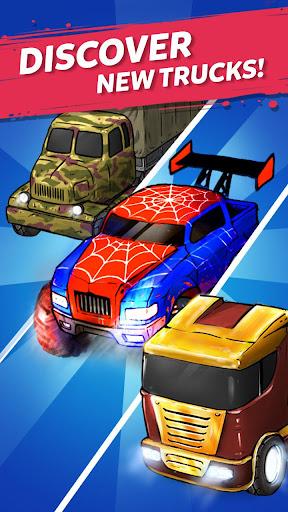Merge Truck: Monster Truck Evolution Merger game Apkfinish screenshots 6