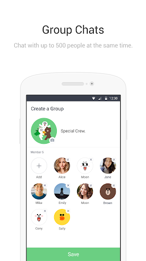 LINE Lite: Free Calls & Messages 2.17.0 Screenshots 4