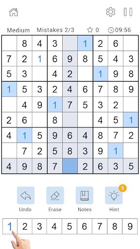 Daily Sudoku Classic - Free Sudoku Puzzle 1.0.4 screenshots 5