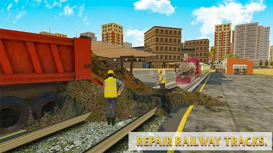 Train Station Construction Railway 4