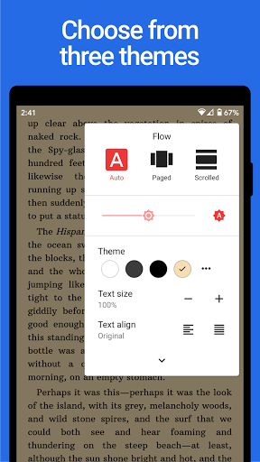 Lithium: EPUB Reader 0.24.1 Screenshots 3