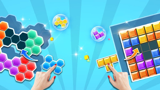 block gems: classic free block puzzle games screenshot 1