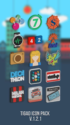 Tigad Pro Icon Pack apktram screenshots 4