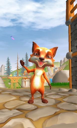 Télécharger My Talking Fox APK MOD (Astuce) screenshots 1