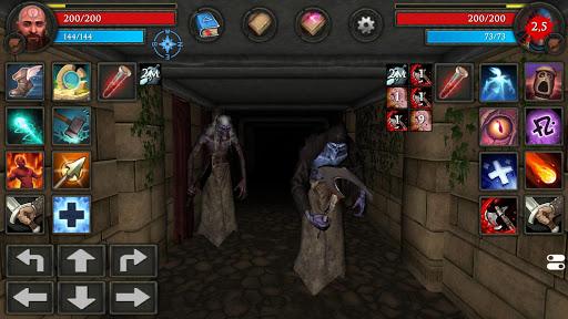 Moonshades: dungeon crawler RPG game  screenshots 16