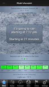 Free RainAware Weather Timer 4