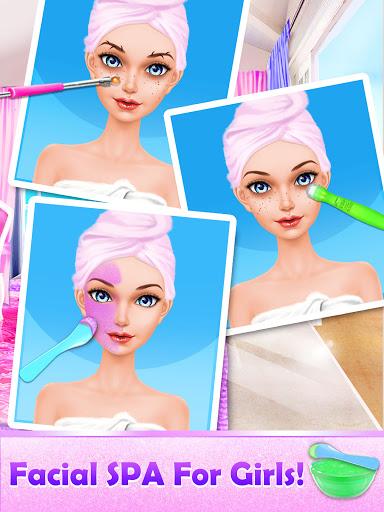 Makeover Games: Makeup Salon Games for Girls Kids apkpoly screenshots 4