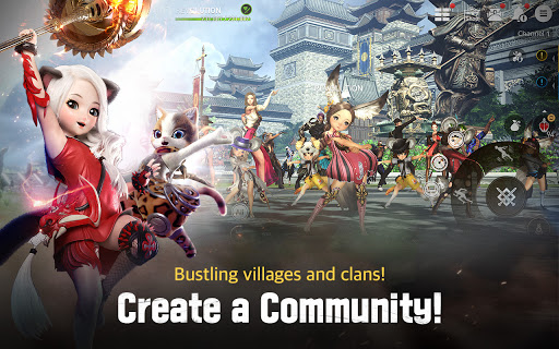 Blade&Soul: Revolution Varies with device screenshots 13