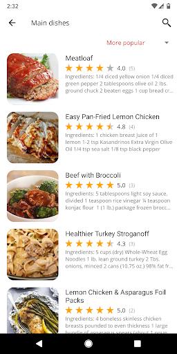 Healthy Recipes 5.45 screenshots 2