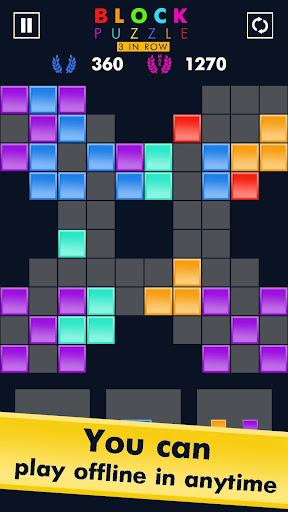 Block Puzzle Match 3 Game apktram screenshots 5