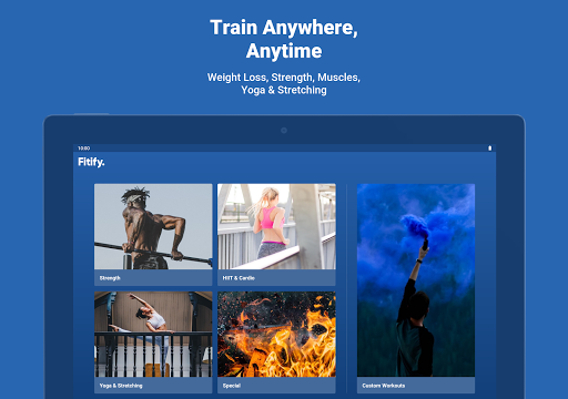 Fitify: Workout Routines & Training Plans android2mod screenshots 16