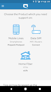 Mobily Support App