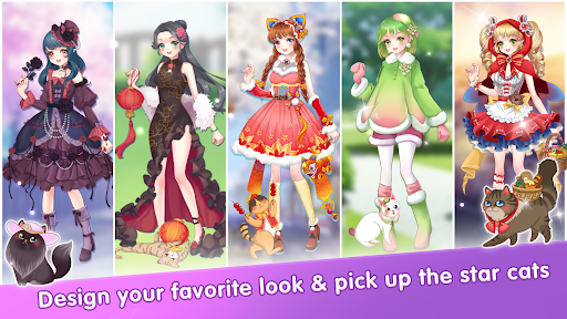 My Cat Diary - Merge Cat & Dress up Princess Games  screenshots 23