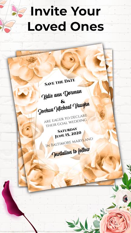Invitation Maker Free - Birthday & Wedding Card  poster 7