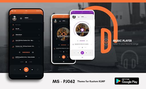 MS - PJ062 Theme for KLWP  screenshots 2