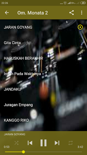 dangdut koplo monata mp3 lengkap screenshot 3