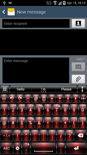 Theme for A.I.type Dusk Red א For PC Windows (7, 8, 10, 10X) & Mac Computer Image Number- 9